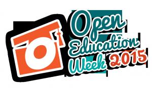 Open Education Week 2015 Logo - Transparent BG